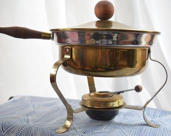 Retro Brass Chafing Dish