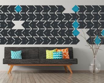 Acoustic wall panels, Felt Wall Panels, Wall Cladding, Modular Wall Panels, Modern Wall Decoration, Wall Paper, Wall Hanging, CNC cut