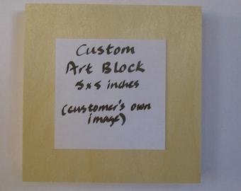 Custom Art Block