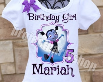 Vampirina Birthday Shirt