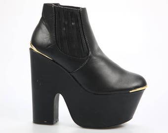 Truffle ladies boots & ankle boots black size. 39