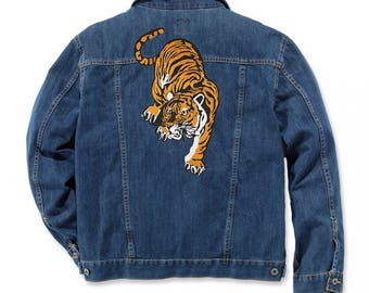 Tiger Patch Large Jacket Patch Iron On Patch