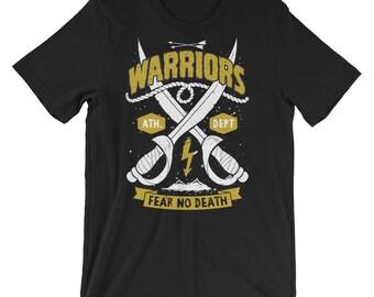 Warriors Fear No Death Short-Sleeve Unisex T-Shirt