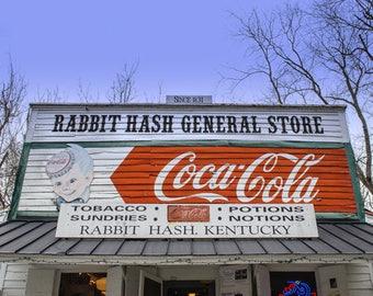 Rabbit Hash Wall Art Photography Art Print Travel Prints Gifts for Dad Farmhouse Decor Rustic Home Decor Kentucky