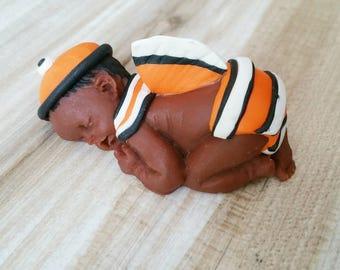 Baby boy themed nemo