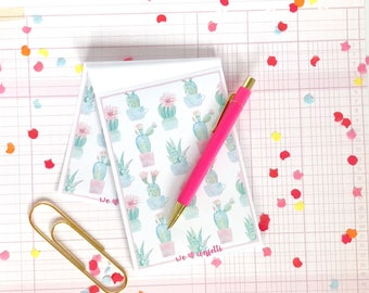 Note pad cactus - weheartconfetti