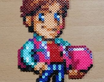 Marty McFly Perler | Back to the Future 2 | 16-Bit | Retro Gaming | Perler Bead Art