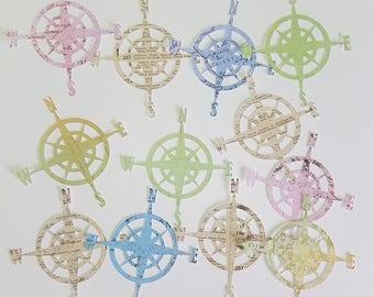 Compass Die Cuts, Scrapbook, Card Making,