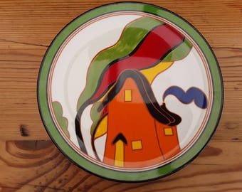 Limited Edition Clarice Cliff plates by Wedgewood