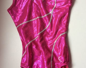 Chic and elegant just cort, gymnastics swimsuit for girls 4-6 years