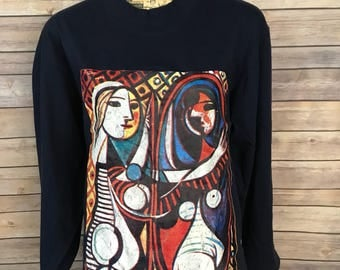Picasso Art Long Sleeve Shirt (L)