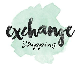Shipping Charge to exchange size