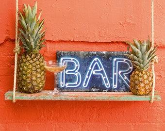 L.E.D Bar Sign, Wedding Bar Sign, Party Sign for the Bar
