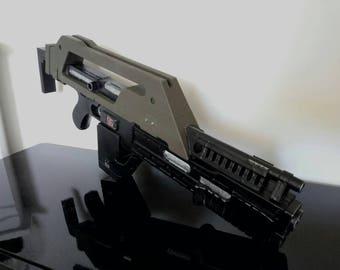 Alien pulse rifle M41A 3D printed replica