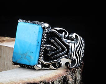 Ottoman 925 Silver ring Ottoman jewellery Ottoman jewelry ring ottoman muslim turkish rings ring men