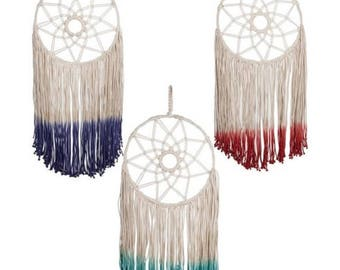 Tie-Dye Dream Catcher Wall Decor