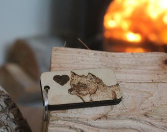 Woodburn Animal Keyring