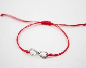 Woven Infinity Symbol Bracelet / Friendship Bracelet