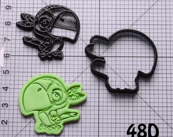 Skully Cookie Cutter Skully Fondant Cutter Skully Birthday Gift Skully Gift Skully Party