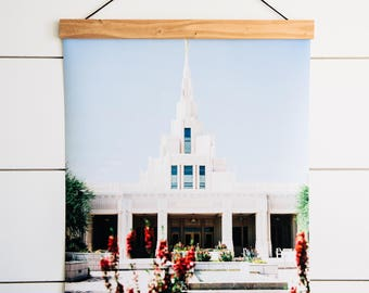 Phoenix LDS Temple. Phoenix Arizona LDS Temple Poster. Phoenix Arizona LDS Temple Print. Phoenix Arizona Lds Temple Picture. Lds Art.
