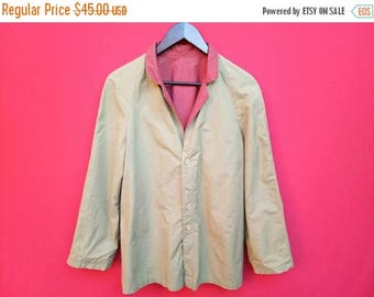 10% sale vintage lanvin women coat reversible