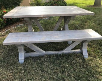 Farmhouse Table | Etsy