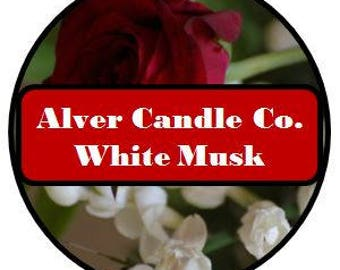 Handcrafted Soy Wax Melts (White Musk) Alver Candle Company