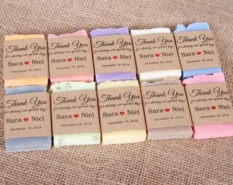 100 mini soap wedding favors Wedding favor soap Personalized shower favors Custom soap favors Shower favors From my shower Guest soap favors
