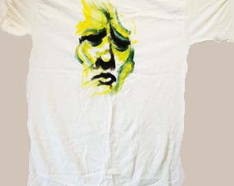 Skeptical face t shirt