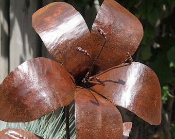Handmade Metal Art Lily