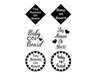 Baby on Board SVG