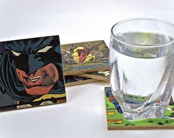 DC Comic Coasters: Batman & Superman