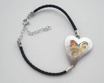 B 396sm  Handmade sterling silver bracelets