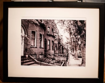 Boston Black and White St.Stephen Street