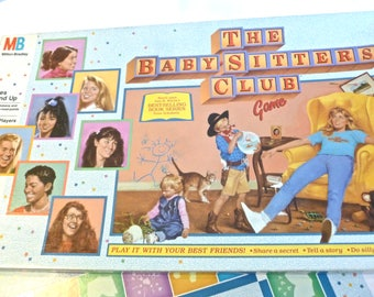 1989 Babysitter's Club Game Board Game Complete VGC Vintage