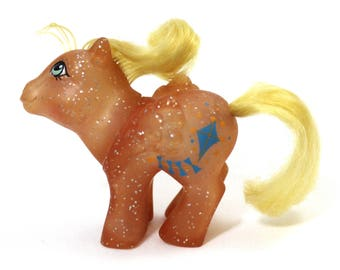 Baby Firefly, USA Sparkle Version, Original, G1, My Little Pony, MLP, Vintage, 80s