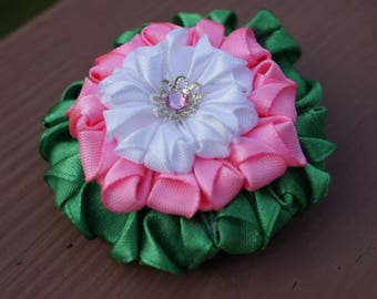 Fantasy flower hairpin