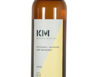 Massage Oil, Patchouli, lavender & bergamot