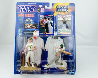 Starting Lineup Baseball 1998 Classic Doubles Mark McGwire Jose Canseco A's