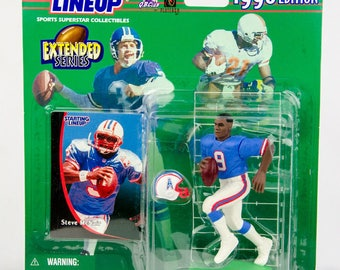 Starting Lineup 1998 NFL Steve McNair Action Figure Houston Oilers