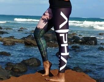 Wai'anapanapa Women's Fitness Leggings