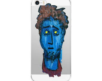 Mr Blue iPhone Cases, iPhone 5/5s, iPhone 6/6s, iPhone 7/7 Plus