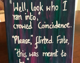 Fate and coincidence