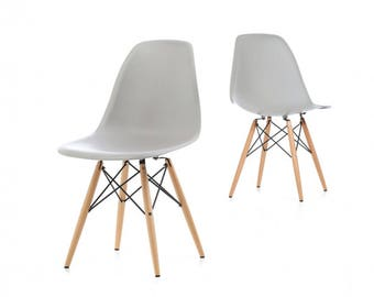 MoF eames chair 2017 new colour warm grey. set of 2 or Set of 4 OFFER!!