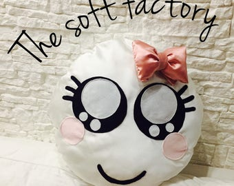 Pillow bow emoticon