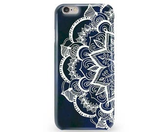 Mandala iPhone 5 Case iPhone 7 Plus Mandala Case iPhone 7 Mandala Case iPhone 6 White Mandala Case iPhone SE Mandala Case Gift For Her