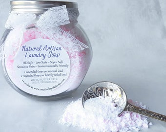32 Loads Gift Pack Natural Laundry Soap ~ Artisan Laundry Detergent ~ HE Machine Safe ~ Septic Safe ~ Sensitive Skin ~ Baby Laundry Soap