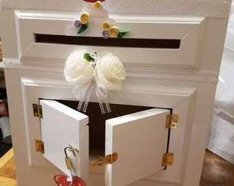 Post Office Wedding Card Box- FREE SHIPPING
