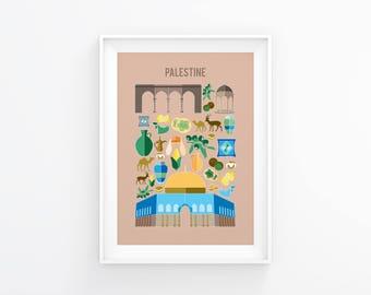 Palestine print