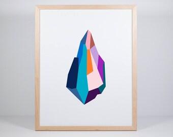 Shard V Print